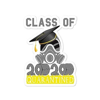 Class of 2020 Funny Quarantine Seniors Graduation Gift Bubble stickers: Arts, Crafts & Sewing
