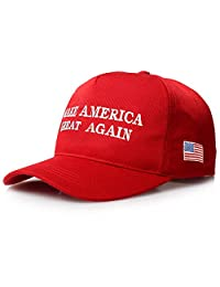 Make America Great Again US Baseball Cap Embroidery Cotton Men Women Hat Velcor