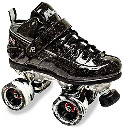 (Sure-Grip Rock GT50 Sparkle Roller Skates (Black, Mens 8 / Womens 9-9.5) )