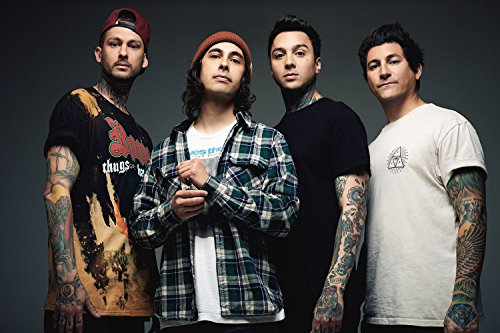 Pierce The Veil Band Music Poster