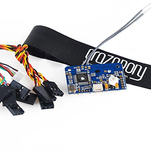 Crazepony Flysky FS X6B Receiver + Crazepony Strap , 2 4G i