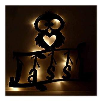 Schlummerlicht24 LED Deko Wandlampe\