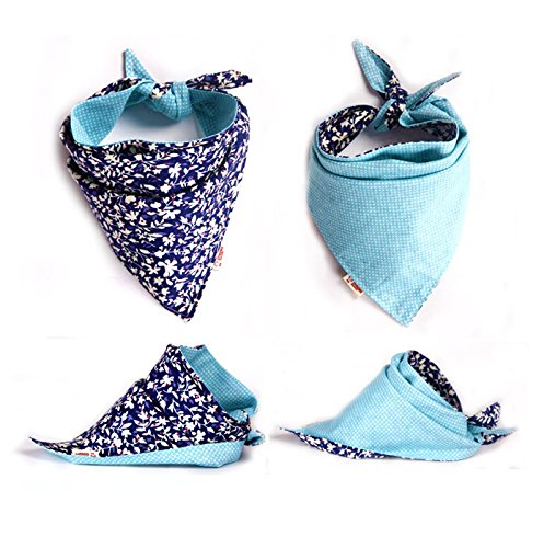 FUNPET-4-Pcs-Dog-Bandana-Triangle-Bibs-Bright-Coloured-Scarfs-Accessories-for-Pet-Cats-and-Baby-Puppies