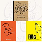 img - for Ginger Pig Meat Book,Pitt Cue Co.and Hog 3 Books Bundle Collection - The Cookbook, Proper pork recipes from the snout to the squeak book / textbook / text book