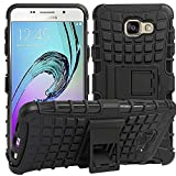AJM Samsung Galaxy A9 Pro Defender Stylish Hard Back Armor Shock Proof Case Cover with Back Stand Feature