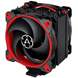 ARCTIC Freezer 34 eSports DUO - Tower CPU Cooler with Push-Pull Configuration, Wide Range of Regulation 200 to 2100 RPM, Includes 2 Low Noise PWM 120 mm Fans – Red ACFRE00060A