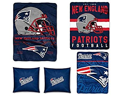 Amazon The Northwest Company NFL New England Patriots 40pc Magnificent Nfl Blankets And Throws