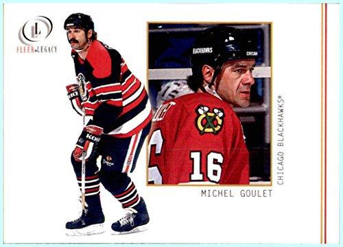 2001-02 Fleer Legacy #37 Michel Goulet CHICAGO BLACKHAWKS