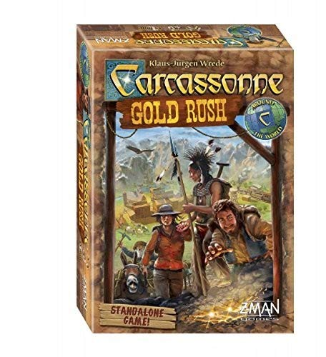 Z-Man Games ZMG78640 Carcassonne Gold Rush Board Game ()