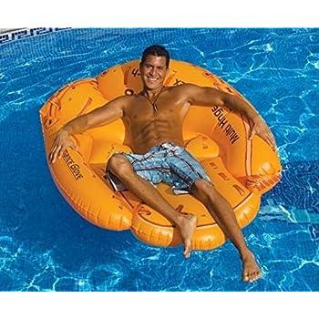 Swimline Baseball Glove Float Inflatable Raft Toys Games