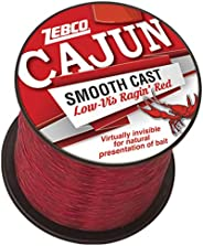 Zebco Cajun Low VIS QTR # Spool 4LB -RED, Multi, One Size (CLLOWVISQ4C.SW6)