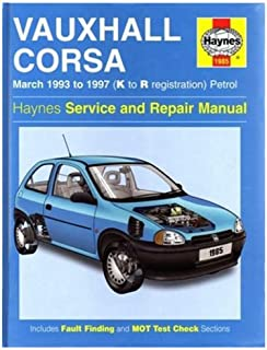 vauxhall opel corsa service and repair manual 1997 to 2000 haynes rh amazon co uk vauxhall corsa 2000 workshop manual haynes manual vauxhall corsa 2000