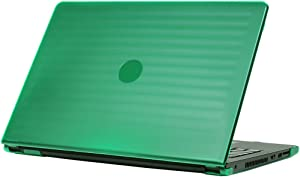 """mCover Green Hard Shell Case ONLY for 15.6"""" Dell Inspiron 15 3000 Series (3552/3558/3559/5558/5559) and Latitude 15 (3560/3570) Laptop"""