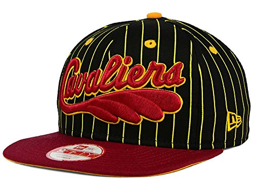 Cleveland Cavaliers Men's New Era Hardwood Classic HWC Vintage Pinstripe Snapback Hat ()