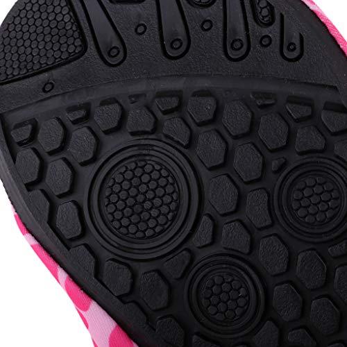 Piscine 41 De Poids D'eau Chaussons Aquatique Sport Léger Chaussures Antidérapante Et 40 Xl Rose Plage Ipotch XT8BqZx