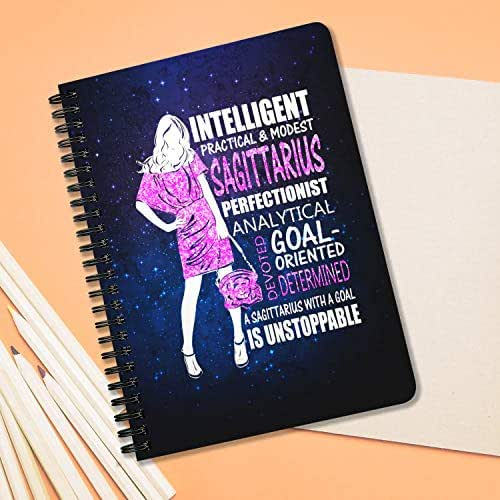 Amazon.com: Zodiac Sagittarius Girl With A Goal Is