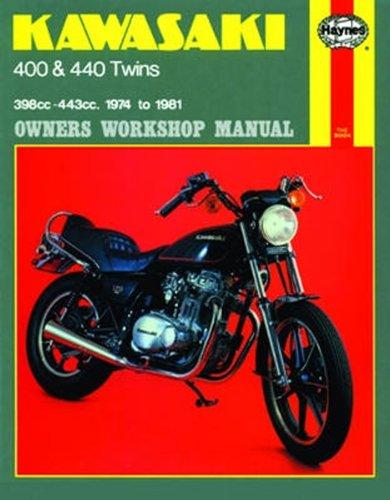 Kawasaki 400 and 440 twins Haynes Repair Manual (1974 - 1981) -  Paperback