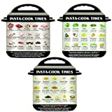 JDgoods 3 Pack Magnetic Cheat Sheet Compatible with Instant Pot Food Images Magnet Cooking Times Accessories for 45 Common Prep Functions