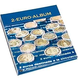 Leuchtturm 301082 Álbum para monedas NUMIS, conmemorativas de 2 Euros, Tomo 1