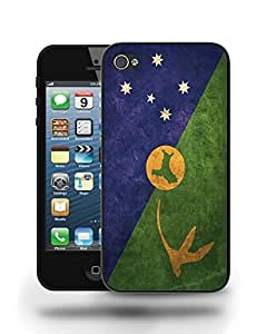 Christmas Island Vintage Flag Phone Case Cover Designs for iPhone 4