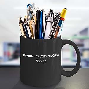 computer programming black coffee mug\ mount-rw/dev/coffee/brain