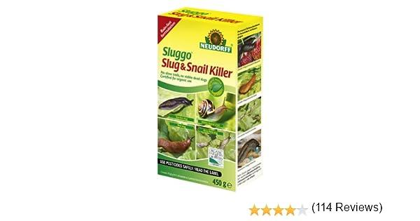 Neudorff Sluggo - Insecticida para babosas y Caracoles, 450 g ...