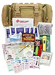 PhysiciansCare by First Aid Only 90454 3-Day Survival and First Aid Kit, Tan (73 Piece Kit)