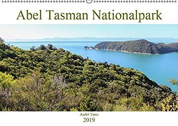 Abel Tasman Nationalpark (Wandkalender 2019 DIN A2 quer): Monatskalender mit Eindrücken aus dem Abel Tasman Nationalpark (Monatskalender, 14 Seiten ) (CALVENDO Orte)