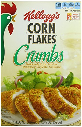 ��s, Crumbs, Fat-Free, 21 oz Box(Pack of 12) (Wheat Free Bread Crumbs)