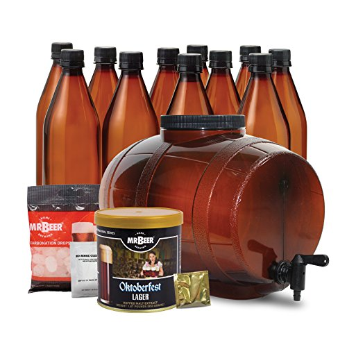 Mr. Beer Oktoberfest Lager Extract Homebrewing Kit