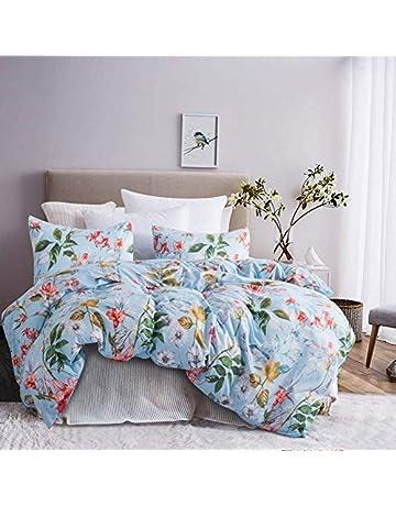 8c8ebbecb17 Leadtimes Duvet Cover Set Queen Duvet Cover Floral Boho Hotel Bedding Sets  Comforter Cover with Soft