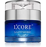 L'Core Paris Sapphire Facial Peel with Organic Extracts - Anti Aging Facial Peeling Gel Infused with Minerals and Real…