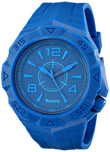 Roots Men's 1R-AT500BU1U Tusk Analog Display Analog Quartz Blue Watch (Roots Canada Watch)
