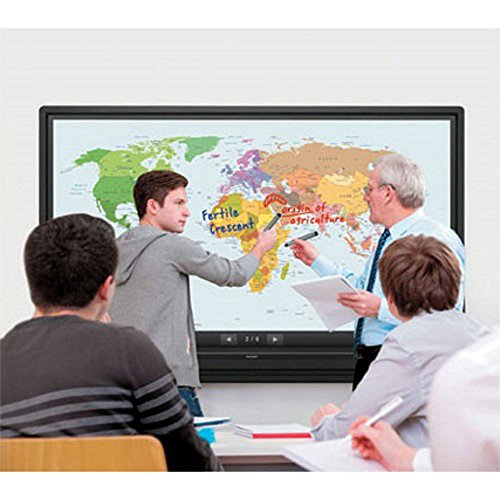 Sharp (PN-L603B) Aquos Board 60'' Edge Lit LED Backlight Interactive Display System w/ Pro Series Large Extension TV Mount for Size 37-90'' by Beach Camera (Image #2)