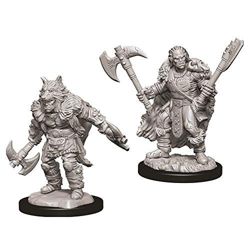 [해외]Dungeons & Dragons Nolzur`s Marvelous Unpainted Miniatures: W9 Male Half-Orc Barbarian / Dungeons & Dragons Nolzur`s Marvelous Unpainted Miniatures: W9 Male Half-Orc Barbarian