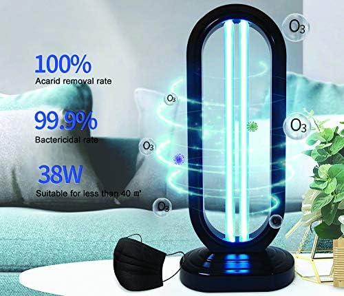 ECO-3183 garant/ía 10000 Horas 38W ECODE L/ámpara de Luz Ultravioleta UV con generaci/ón de Ozono para estancias de 45 50 m2