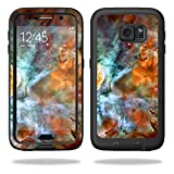 MightySkins Protective Vinyl Skin Decal for LifeProof Samsung Galaxy S6 Case fre wrap cover sticker skins Space Cloud