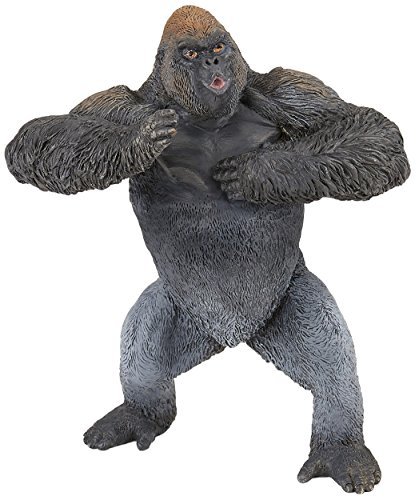 Papo Mountain Gorilla Figure, Multicolor (Gorilla Mountain)