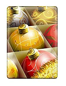 Janice K. Alvarado's Shop Hot 9330189K60624822 Fashionable Ipad Air Case Cover For Hd Christmas Balls Protective Case