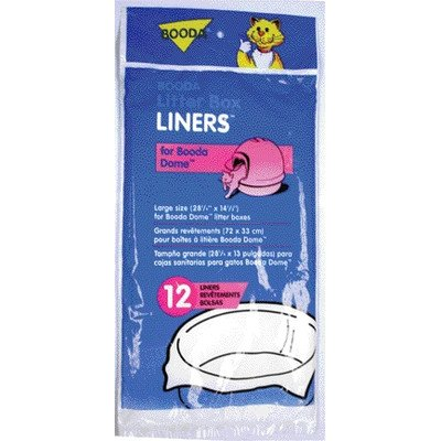 Dome Liners (12 Pack) [Set of (Booda Dome Liners)