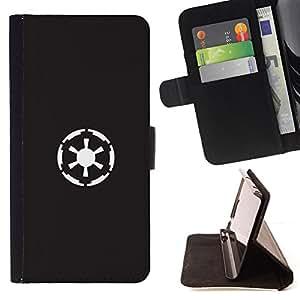 - Star Wars Rebels - - Prima caja de la PU billetera de cuero con ranuras para tarjetas, efectivo desmontable correa para l Funny HouseFOR Apple Iphone 5C