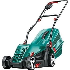 Bosch Rotak 34R Electric Lawnmower (1300 W, Cutting width: 34 cm, In carton packaging)