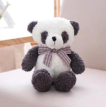 Tery Lindo Juguete Suave Muñeco de Peluche de Peluche Muñeco de Peluche Muñeco de Peluche Panda Giftl para bebés Niños pequeños (Blanco y Negro): Amazon.es: ...