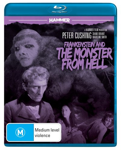Frankenstein and the Monster from Hell (1973) ( Frankenstein & the Monster from Hell ) (Blu-Ray & DVD Combo) [ Blu-Ray, Reg.A/B/C Import - Australia ]