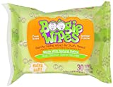 Health & Personal Care : Boogie Wipes Saline Nose Wipes, Fresh Scent, 30-Count by Little Busy Bodies, LLC