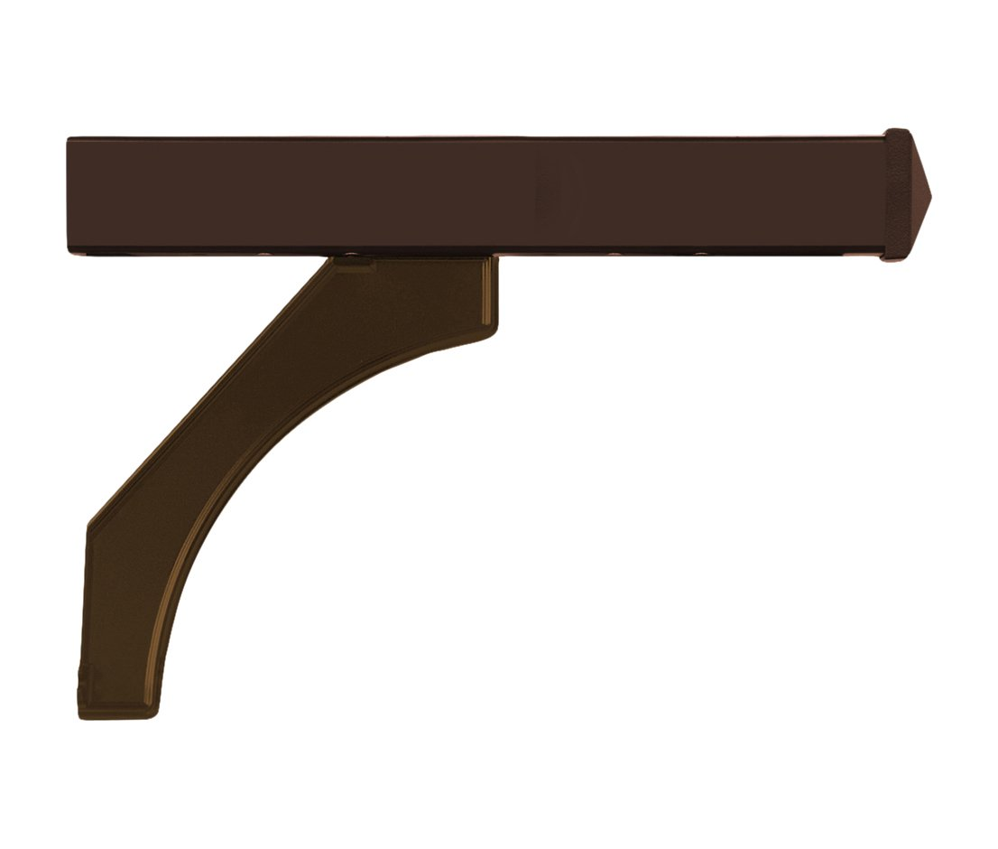 Salsbury Industries 4878BRZ Arm Kit Replacement for Deluxe Post for 2 Mailboxes, Bronze