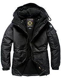 SOUTH PLAY Mens Premium Ski SnowBoard Wear Jacket Jumper SOLID BLACK