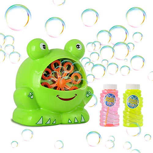 Price comparison product image BEEYEO Bubble Machine Automatic Durable Bubble Blower for Kids