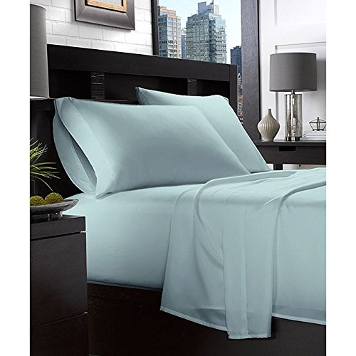 Lux Decor Collection Bed Sheet Set - Brushed Microfiber 1800 Bedding - Wrinkle, Stain and Fade Resistant -...