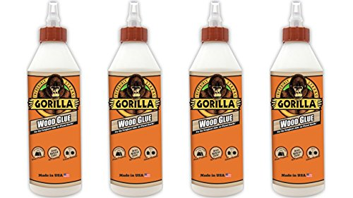 Gorilla 6205021 4 Wood Glue 4 Pack 18 Oz